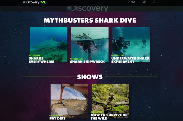 discoverys new vr site shows off its first immersive videos discovery