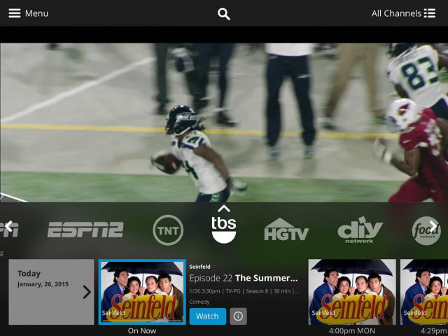 sling tv sports extra package launch  add on dish app