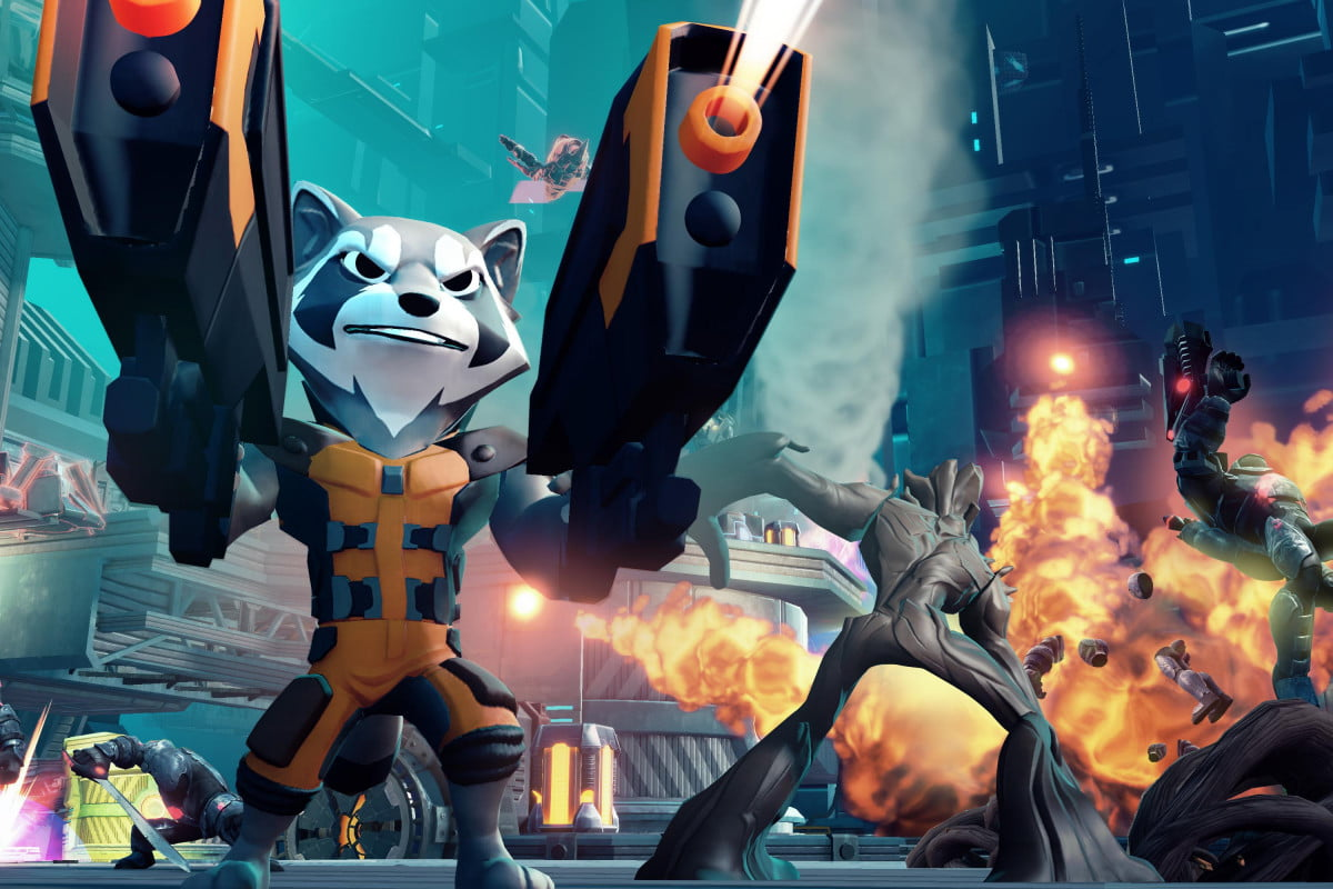 guardians galaxy coming disney infinity along playstation exclusive avengers bundle