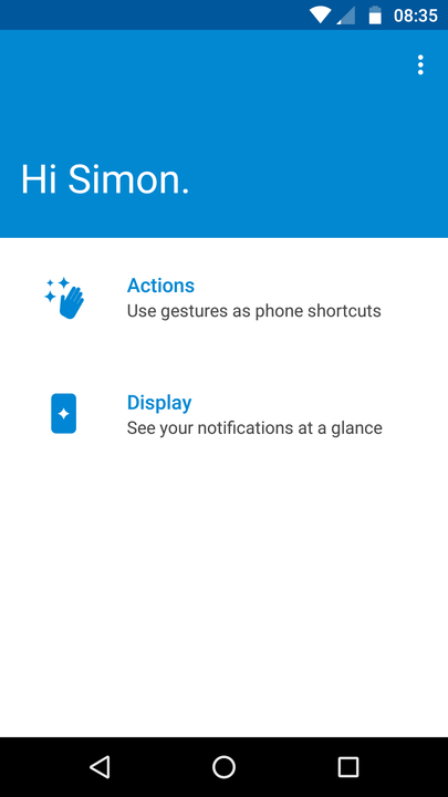 moto g  tips and tricks display notifications