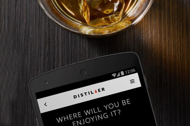 distiller whiskey app for android