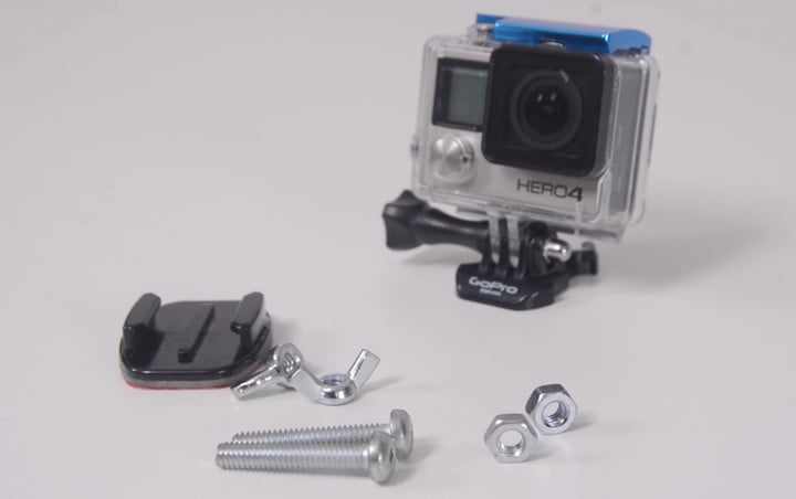 DIY GoPro Shoulder Strap Mount 1