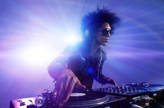 songs to stream diddy miguel dj stock photo