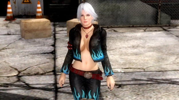 Dead Or Alive 5 Christie DLC costume