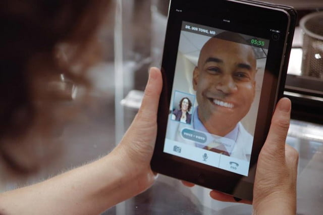 doctor on demand brings doctors and psychologists to your phone video visit tablet