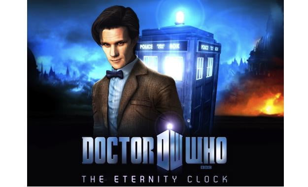 Doctor Who Eternity Clock
