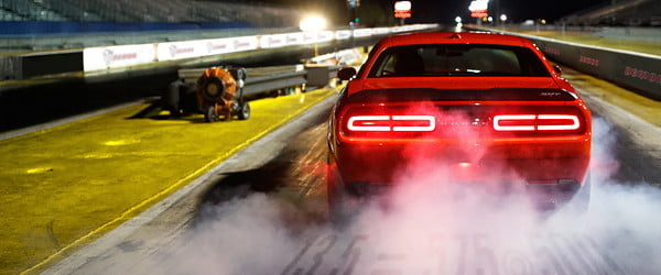 Watch the Dodge Demon downshift into Drag Mode in this muscle car teaser video