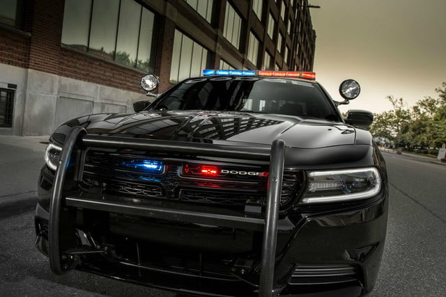 tech protects police vehicles from ambush dodge charger pursuit