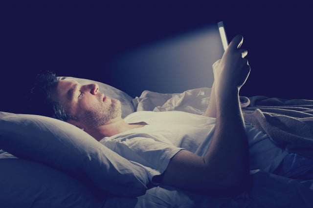 sleep deprivation app does blue light really affect your  we ask an expert