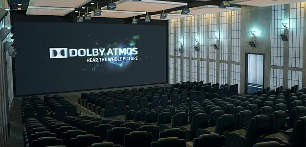 dolby atmos movie theater sound system