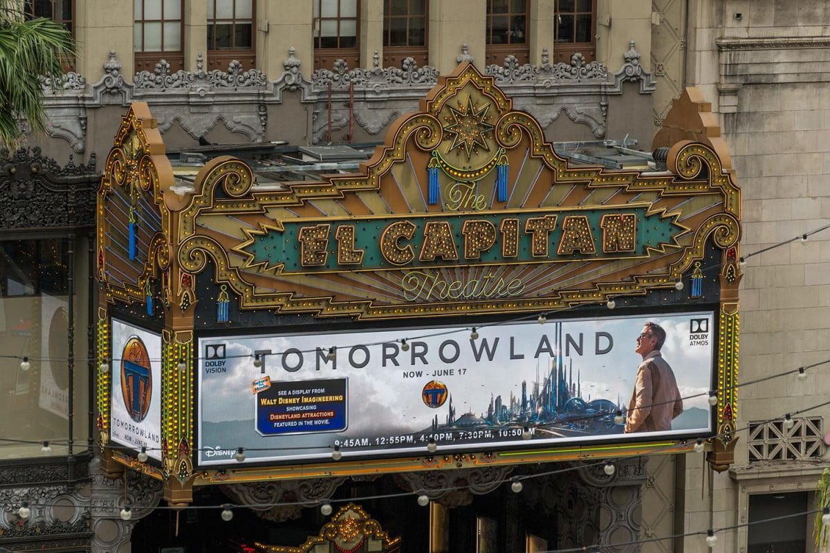tomorrowland dolby vision atmos el capitan theater at the