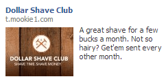 fb ad dollar shave