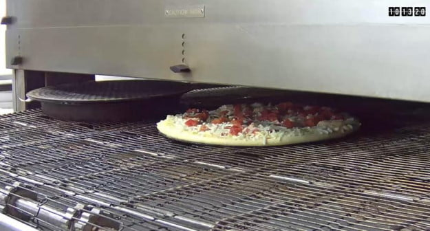 Domino's Live Oven video stream