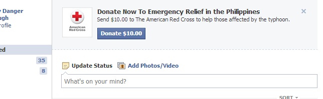 donate to red cross facebook