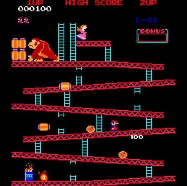 Donkey Kong record holder