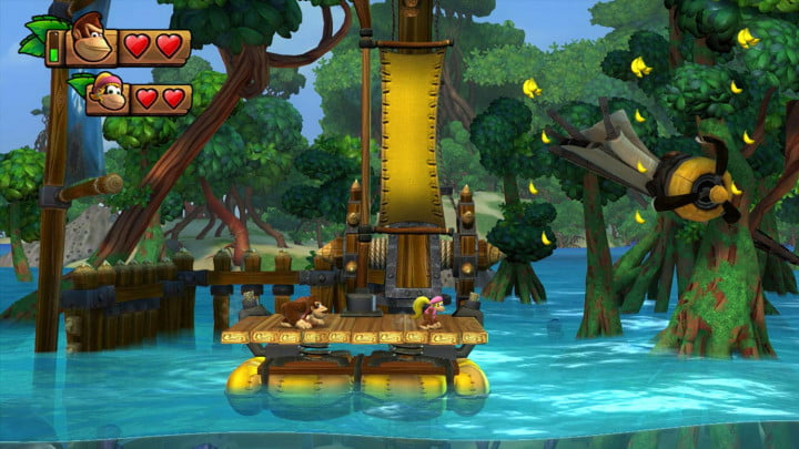 donkey kong country tropical freeze review screenshot