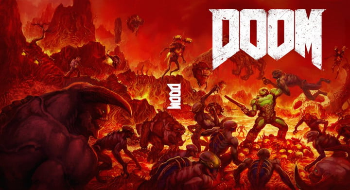 Doom alternate cover 1