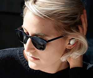 Control live sound or just jam out with these fully wireless, AR earbuds