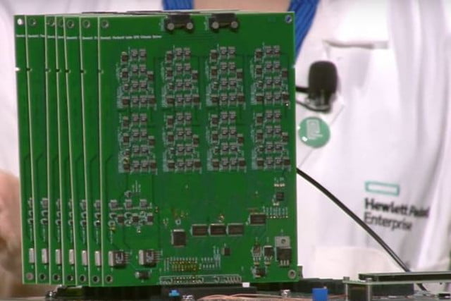 hpe prototype mimics human brain dot product engine