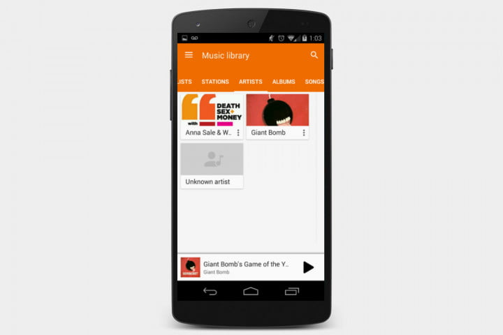 download podcast android screen 1