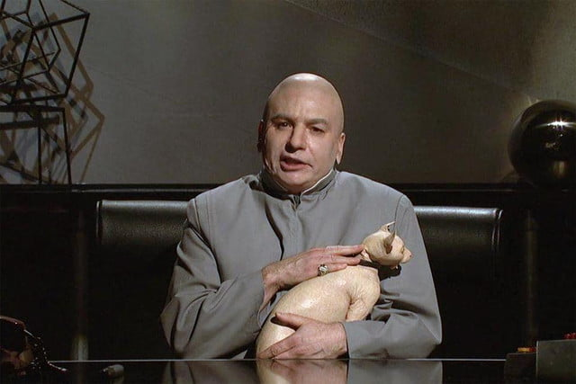 mike myers brings back dr evil ask sony north korea stop giving bad name