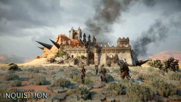 dragon age inquisition e  ea press conference details