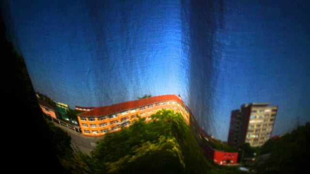 creative photographer turns daughters room camera obscura makes time lapse video draperia