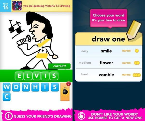 draw something screenshot kindle fire app game