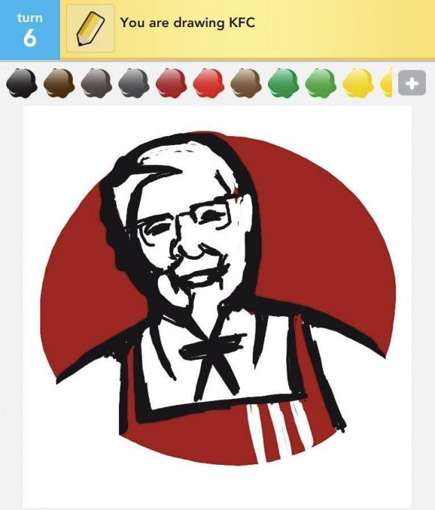 Draw Something KFC