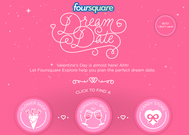 foursquare dream date