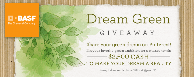 dream green giveaway