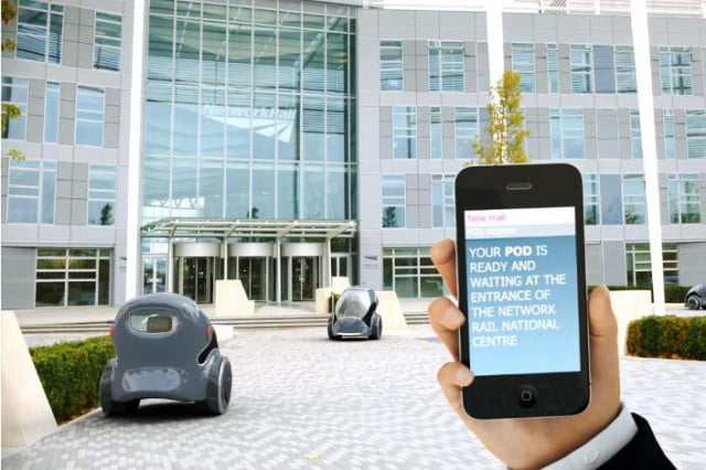 driverless cars coming to uk town pod