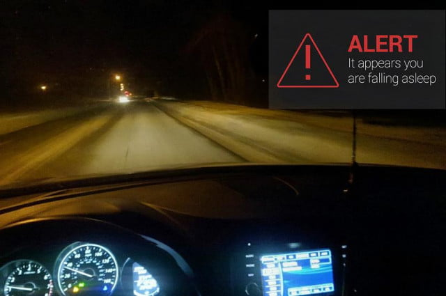 drivesafe app for google glass stops you nodding off at the wheel