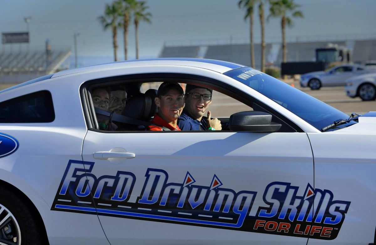 dont drink drive try fords suit makes feel drunk driving skills for life program