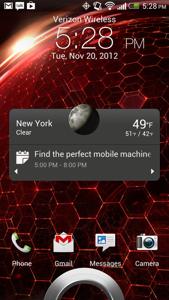 Droid DNA review screenshot home 1080p