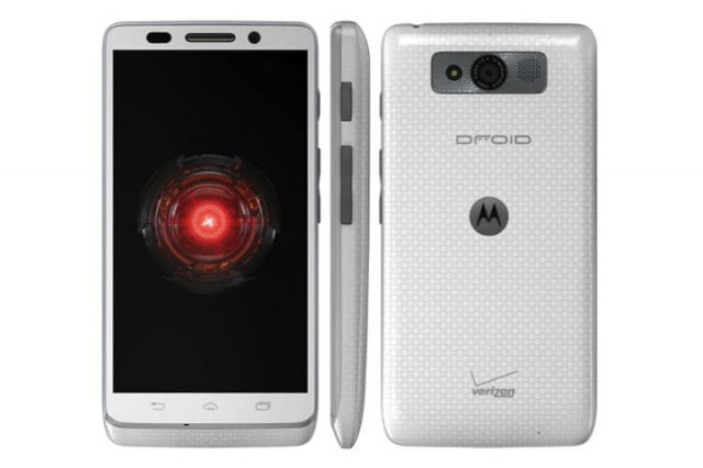 droid mini and ultra in white at verizon