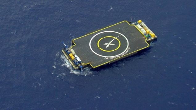 drone barge
