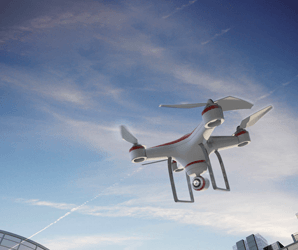 The police may one-day patrol the streets with taser-equipped drones