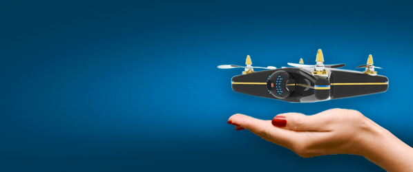 There is now a flying surveillance drone for ... your home