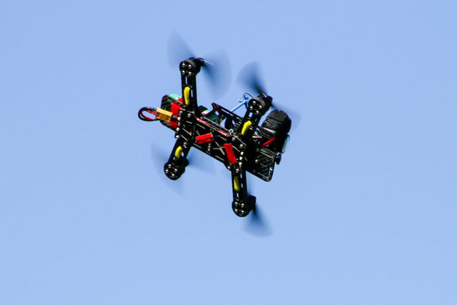 drone shooting illegal racing espn