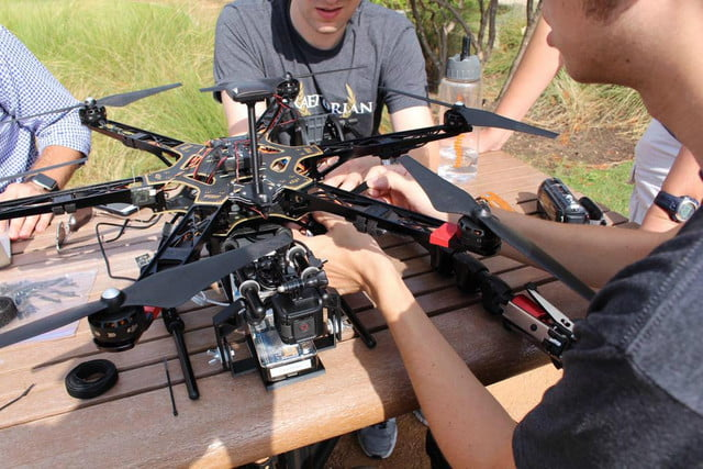 using drones to make a map of iot devices drone that maps zigbee