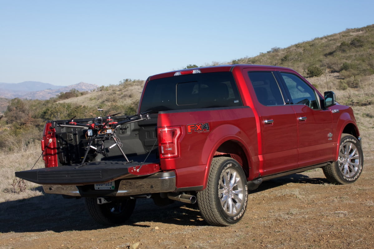 ford challenges developers to turn an f  into a drone equipped rescue vehicle and