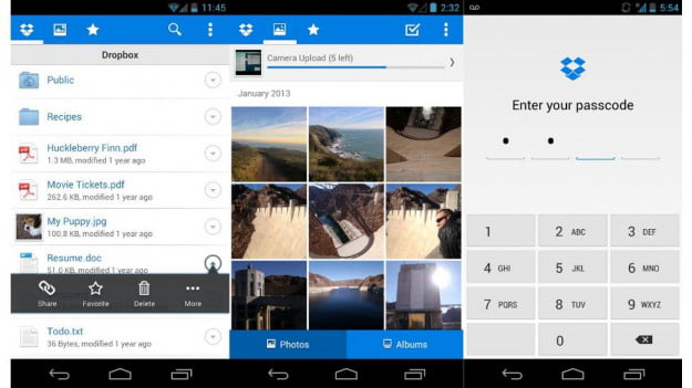 Dropbox-Android-apps-screenshot