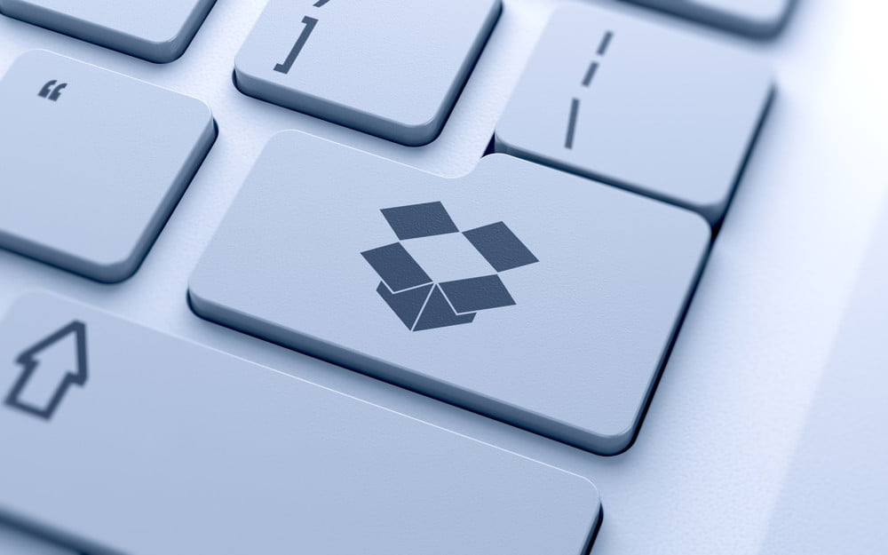 how to send large files for free dropbox key