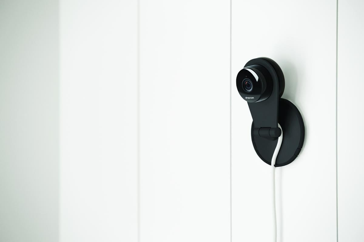 dropcam adds human detection software motion sensors hardware pro wall b  dpi