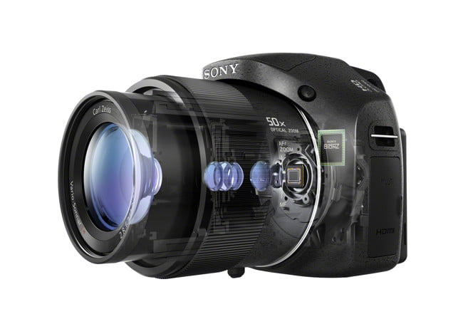 sony unveils new cyber shot point and shoot cameras  dsc hx phantomcut jpg