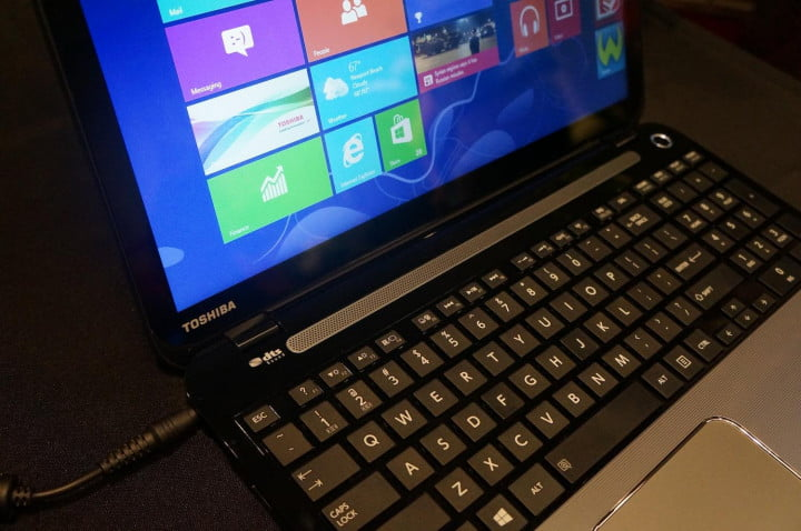 toshiba updates satellite series with haswell processors and touch l keyboard