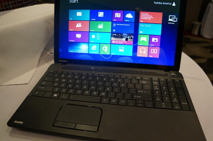 toshiba updates satellite series with haswell processors and touch c front