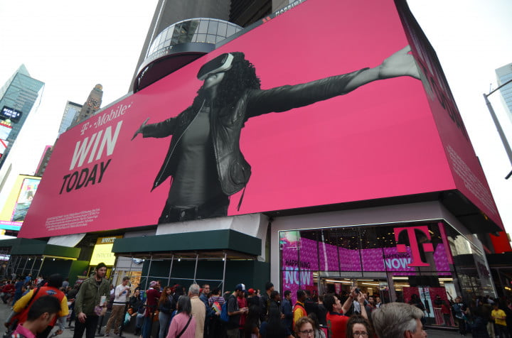 t mobile times square s