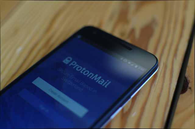 protonmail ios android launch